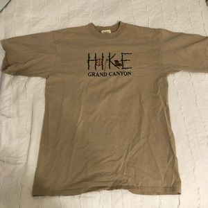 Vintage Grand Canyon hike shirt size large